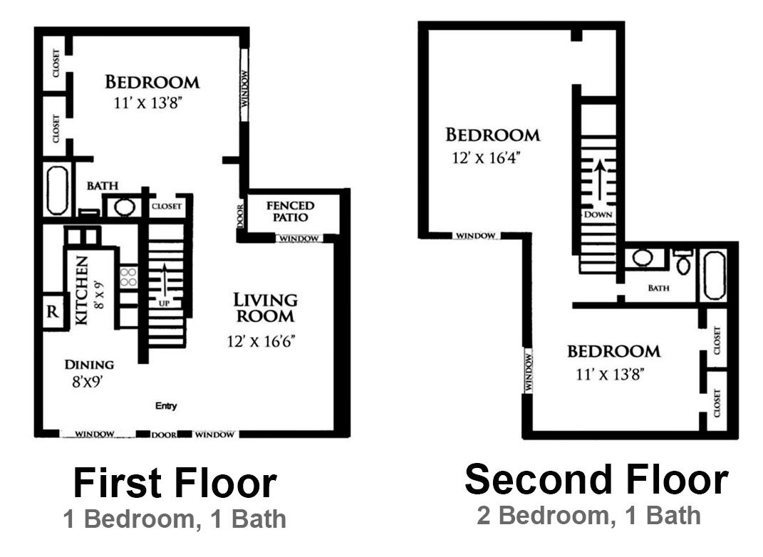 Floor plans for The villages gardenia floor plan